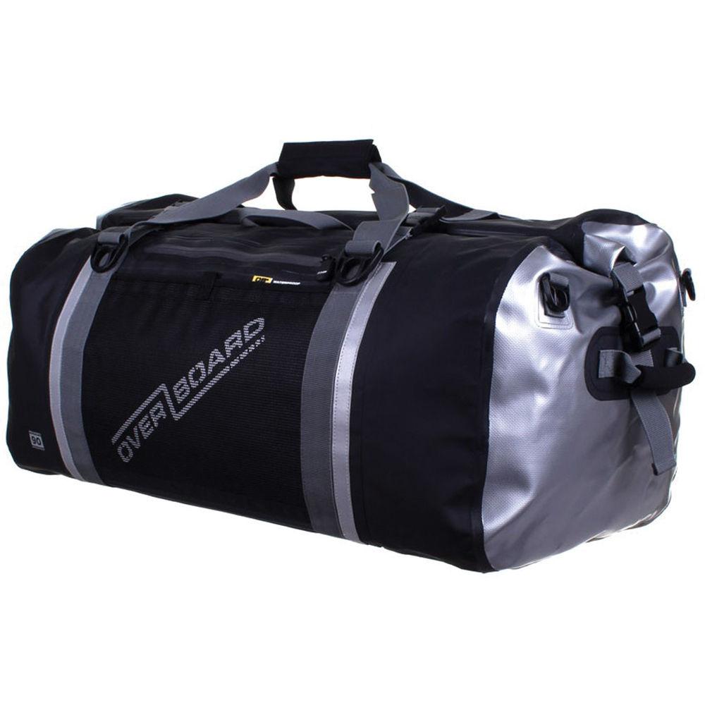 Overboard Pro Sports Waterproof Duffel Bag 90l Black