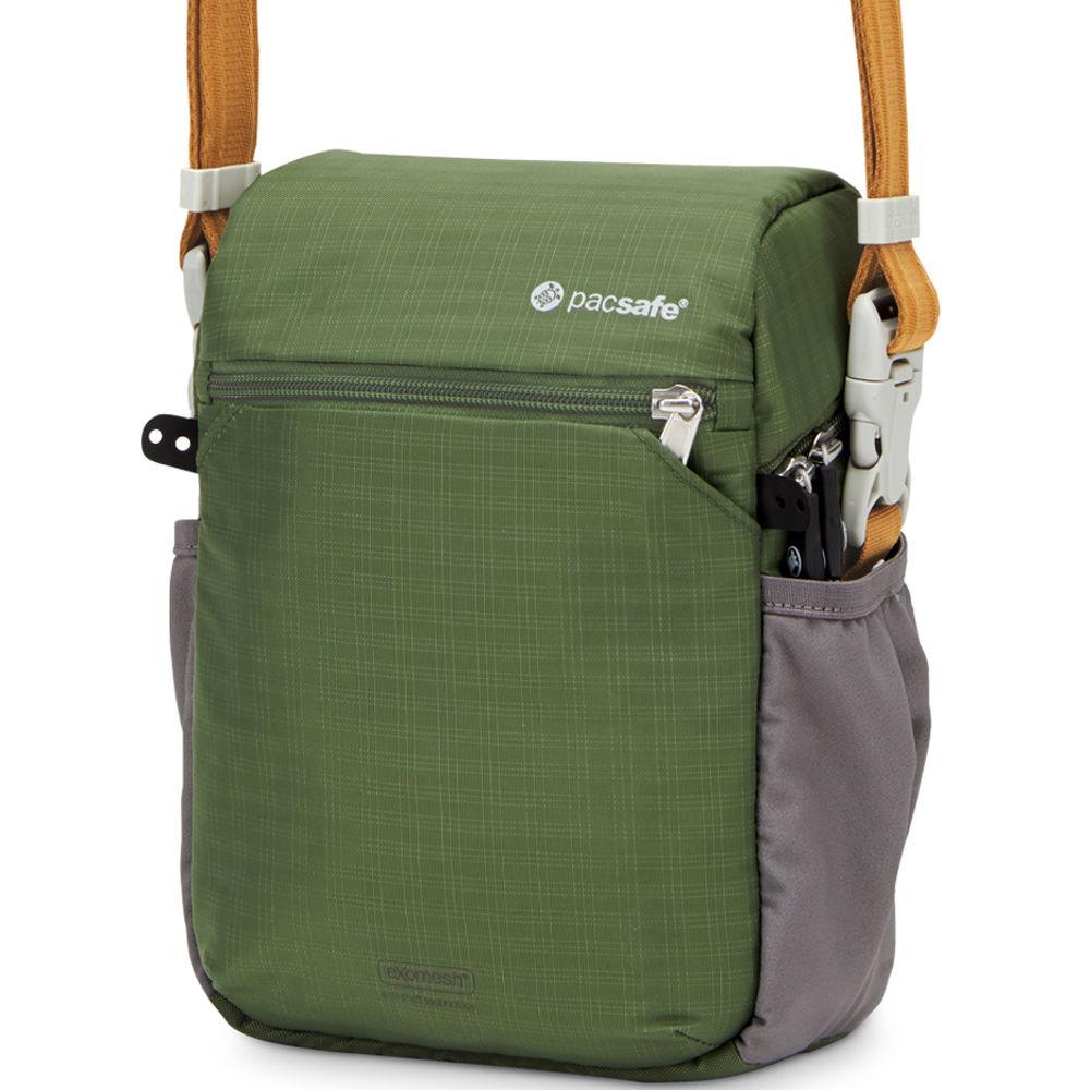 Pacsafe Camsafe V4 Anti Theft Compact Camera Travel Bag Olive Khaki