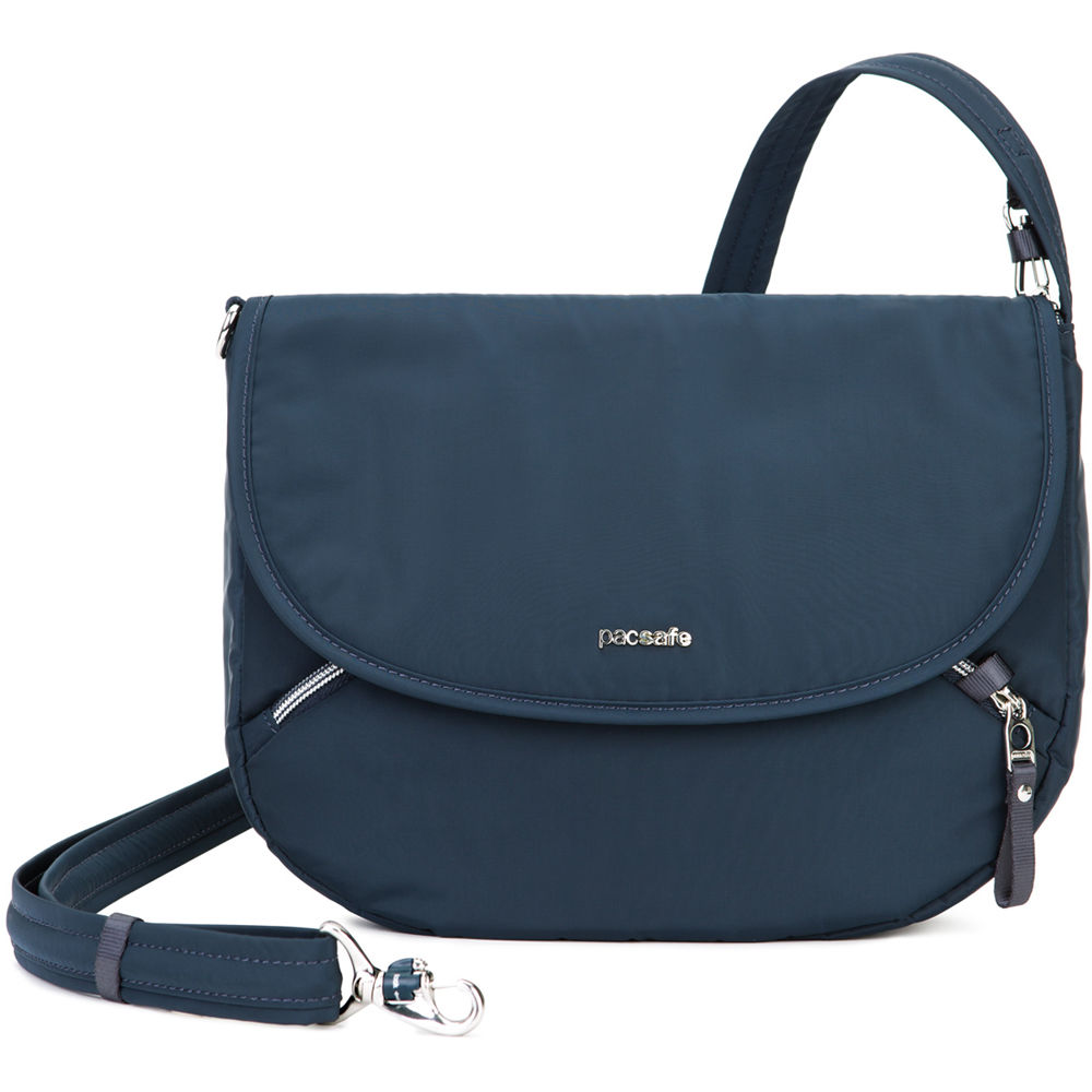795e9121071 Pacsafe Stylesafe Anti-Theft Crossbody Bag (Navy) 20600606 B H