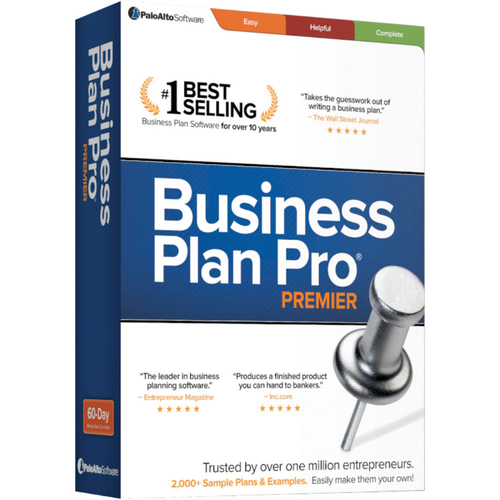 Palo Alto Software Business Plan Pro Premier 12 BRUSDL12 B&H
