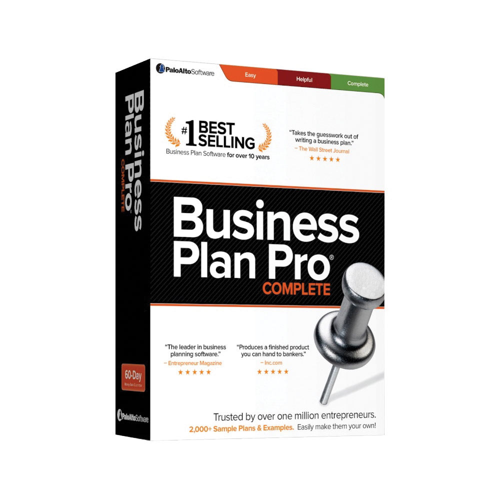 Finish your business plan in hours, not weeks.