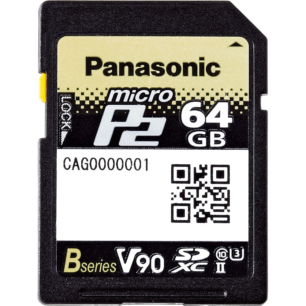 Panasonic P2 Bh Photo Video Harga Solid State Relay Ac 64gb Microp2 Uhs Ii Memory Card