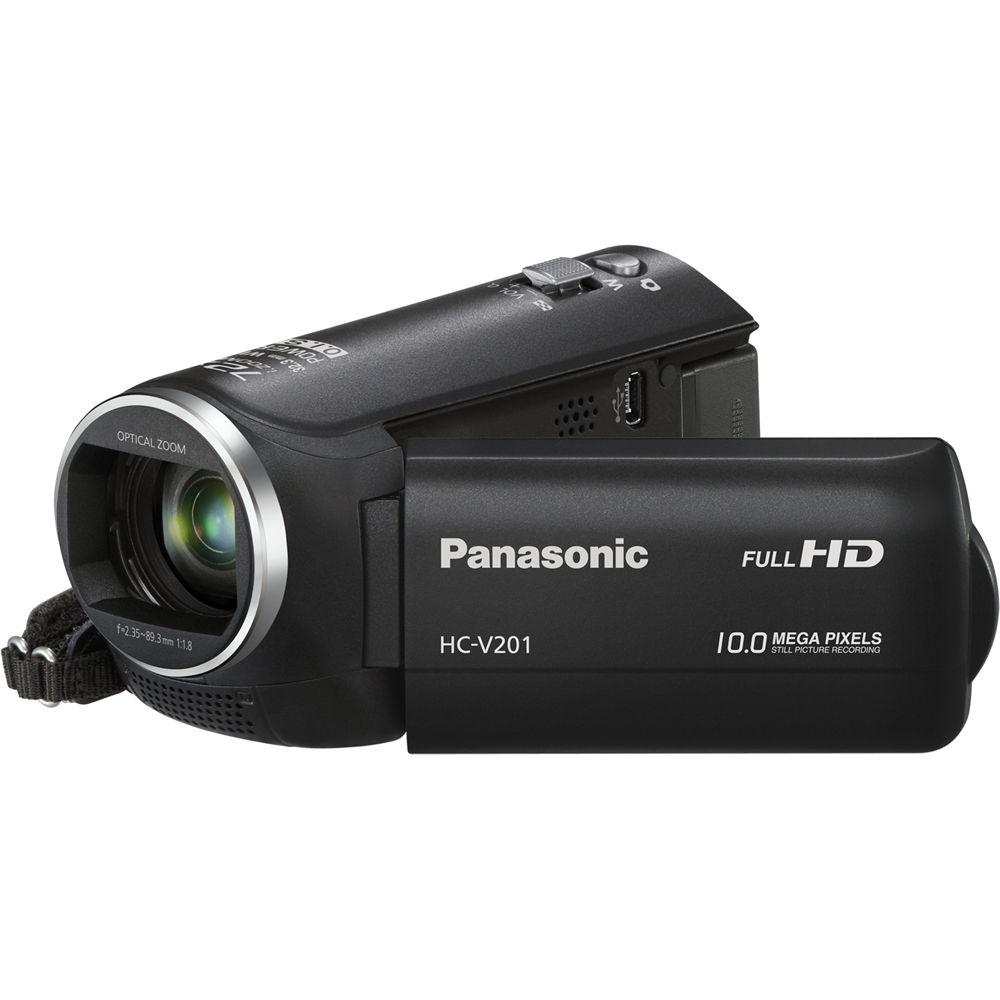 Panasonic HC-V201 HD Camcorder HC-V201K B&H Photo Video
