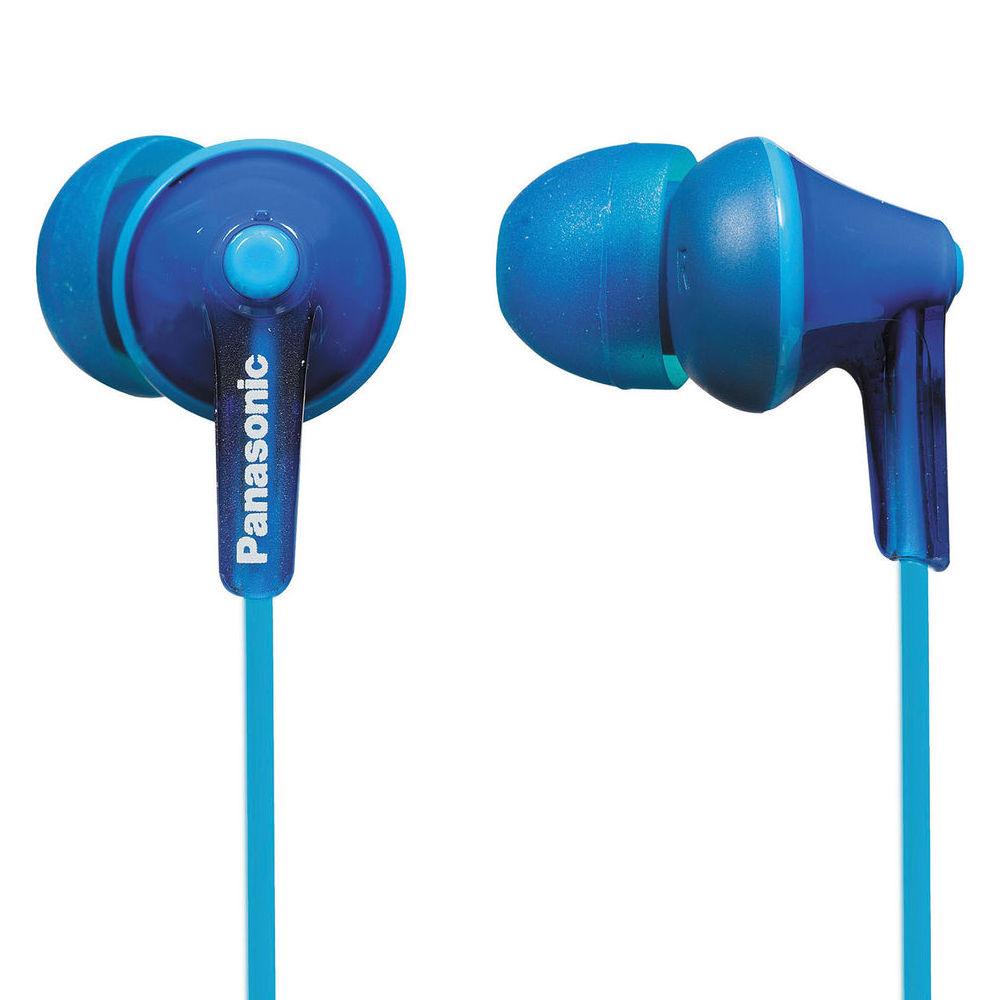 Panasonic ErgoFit In-Ear Earbud Headphones (Blue) RP-HJE125-A