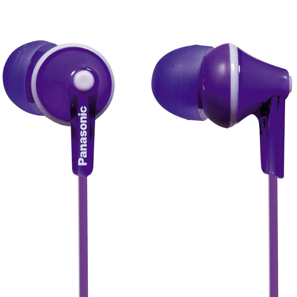 Panasonic ErgoFit In-Ear Earbud Headphones (Violet) RP ...