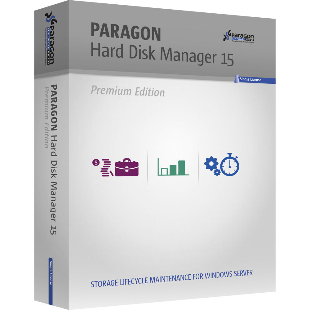 Needs server 2003 partition manager that will destroy their data and - Paragon Hard Disk Manager 15 Premium Download