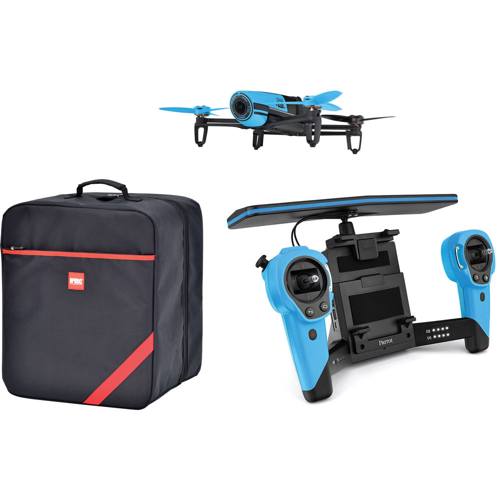 Parrot BeBop Drone Quadcopter with Skycontroller and Soft Case