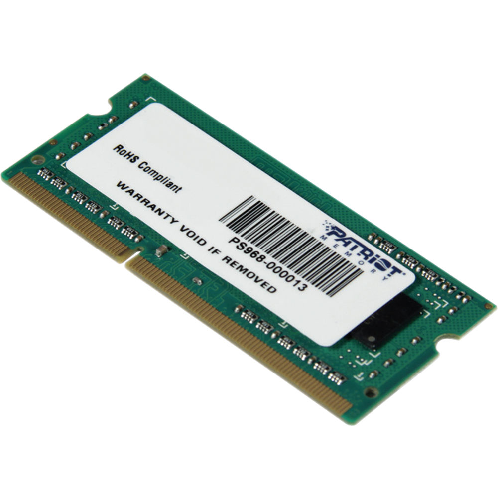 Info Harga Memory Ddr3 Update 2018 Varialed Mini Dc Step Down 3a Buck Modul Lm2596 In 45 28v Out 08 20v Adjustable Patriot Signature Series 4gb Pc3 12800 1600 Psd34g160081s Mhz Sodimm Module