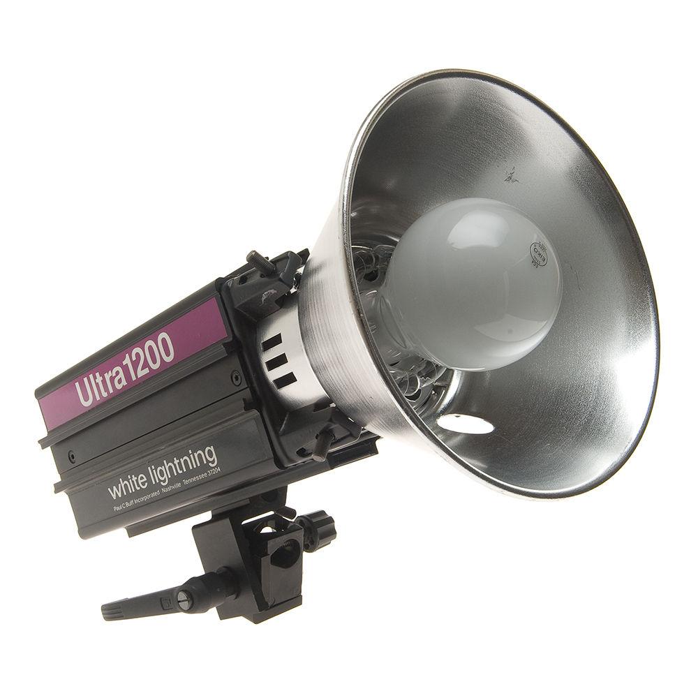 Paul Buff/White Lighting  sc 1 st  Bu0026H & Used Paul Buff/White Lighting Ultra 1200 Monolight with 7
