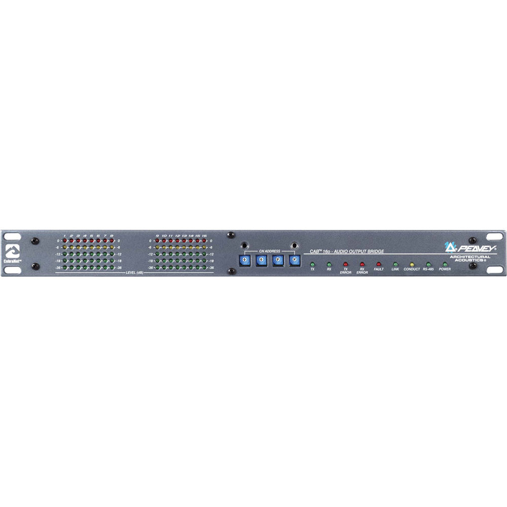 Peavey Cab 16o Mediamatrix Cobranet Audio Bridge 00479270 B Amp H