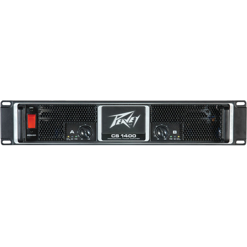 Peavey Cs 1400 Stereo Power Amplifier 00511140 Bh Photo Video Rangkaian 500w Per Channel At 4 Ohm
