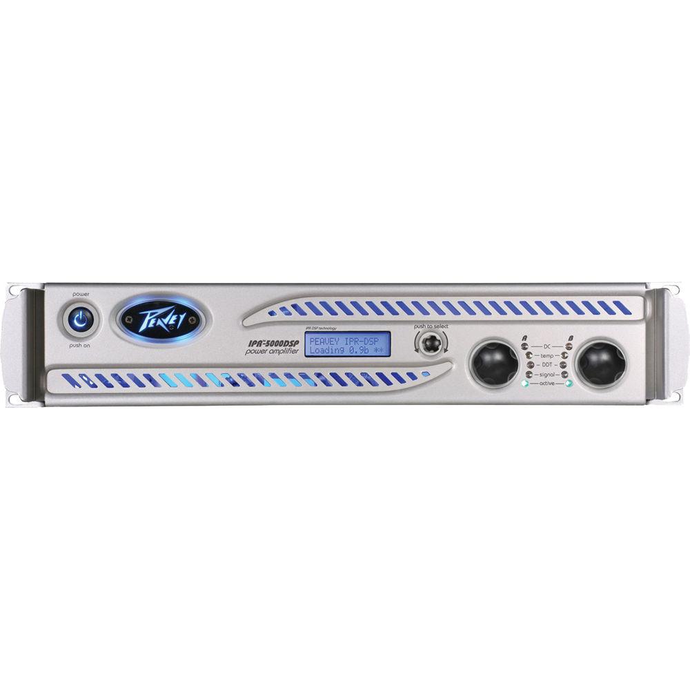 peavey ipr2 5000 dsp 2 channel power amplifier 03004470 b h. Black Bedroom Furniture Sets. Home Design Ideas