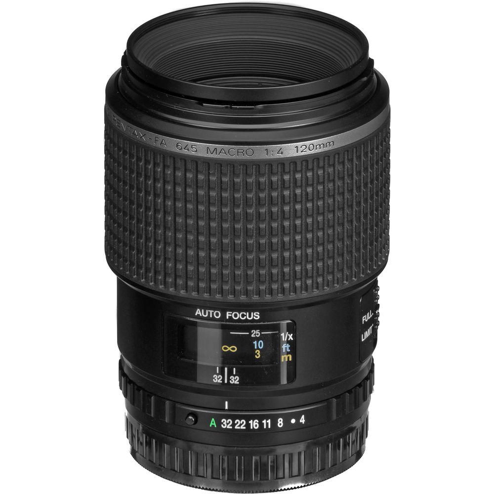 pentax smc fa 645 120mm f 4 macro lens 26735 b h photo video rh bhphotovideo com Pentax 645N SMC Pentax 135