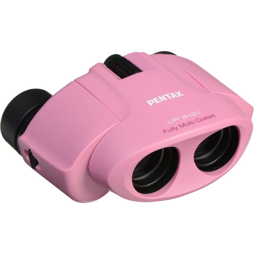Pentax 8x21 U-Series UP Binocular (Pink) 61803 B&H Photo Video