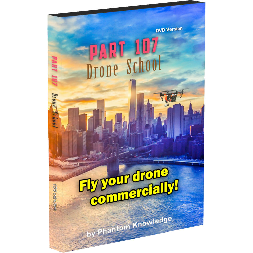 Phantom Knowledge Part 107 Drone School (DVD) PART107 B&H