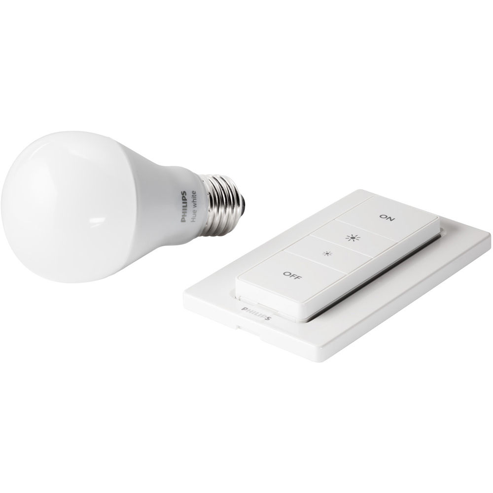 philips hue a19 wireless dimming kit white 455386 b h photo