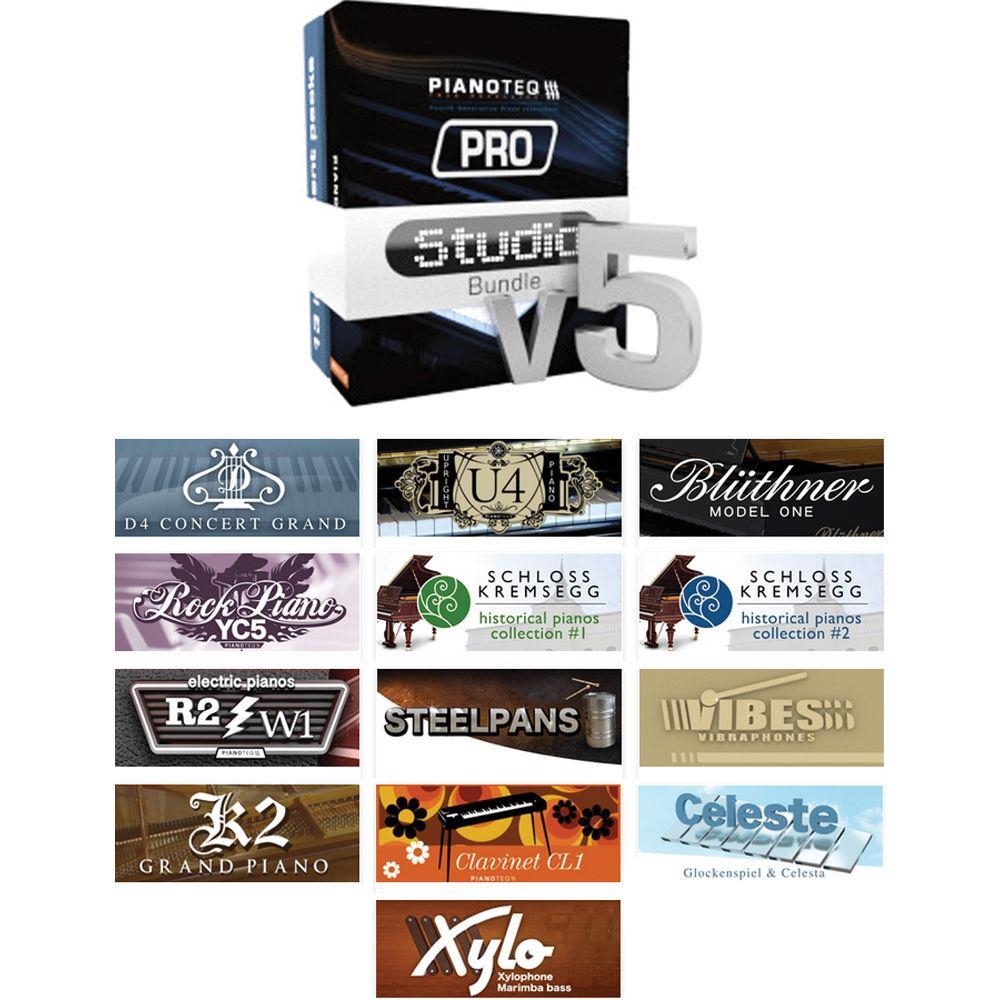pianoteq 5 studio bundle virtual instrument 12 41391 b h photo. Black Bedroom Furniture Sets. Home Design Ideas