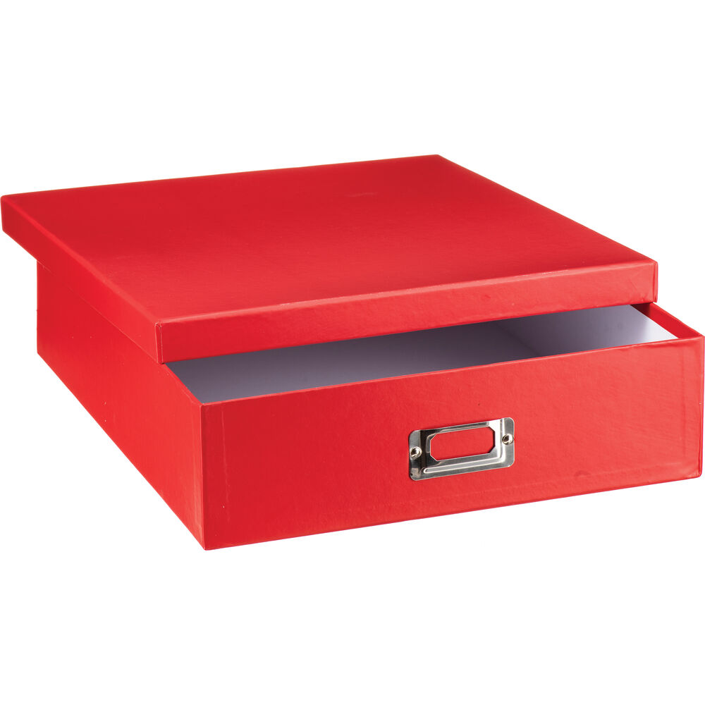 Attirant Pioneer Photo Albums Scrapbooking Storage Box (Bright Red)