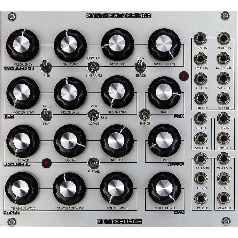 pittsburgh modular synthesizer box semi modular pms2020 b h. Black Bedroom Furniture Sets. Home Design Ideas