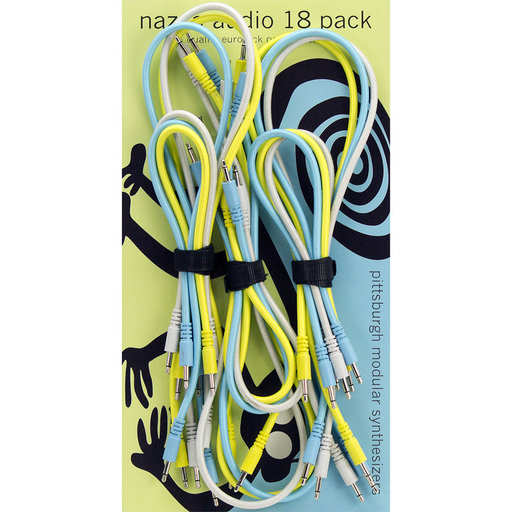Pittsburgh Modular Nazca Braided Eurorack Patch Cables PMS5004