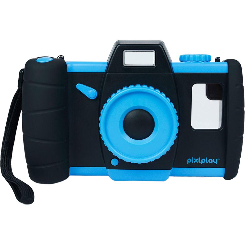Pixl Toys Pixlplay Kids Smartphone Camera Case (Blue) PPBLUE16