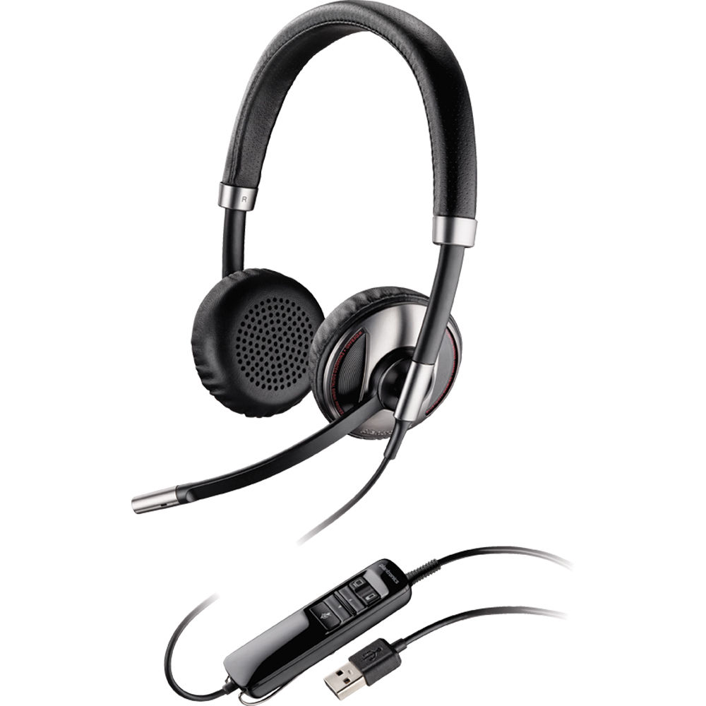 Plantronics Blackwire C720-M Binaural Corded USB 87506-11 B&H