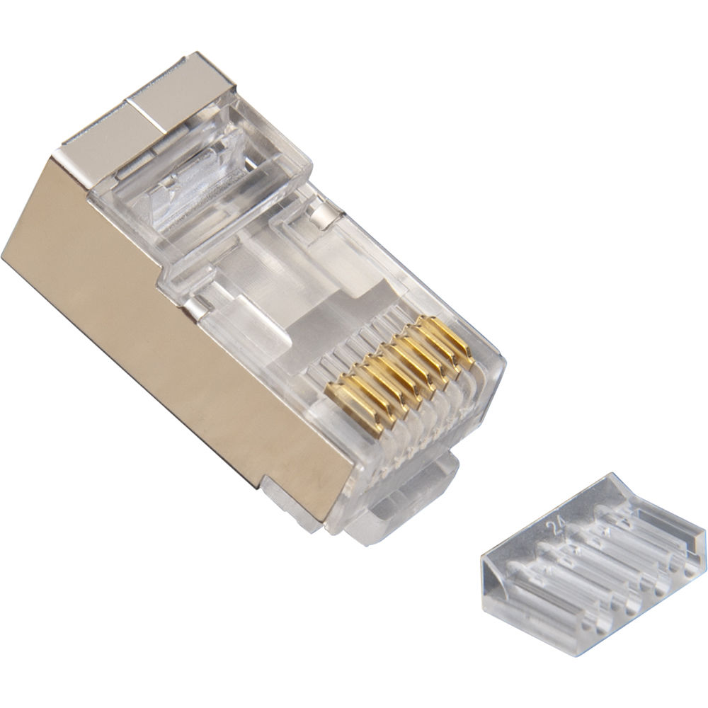 rj45 termination instructions shielded cable image