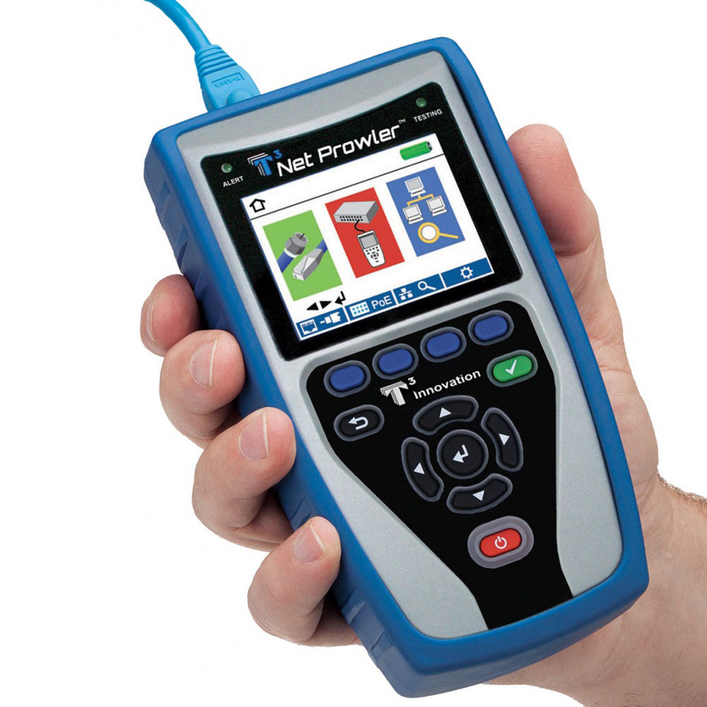 Platinum tools net prowler cabling and network tester for Canape network testing tool