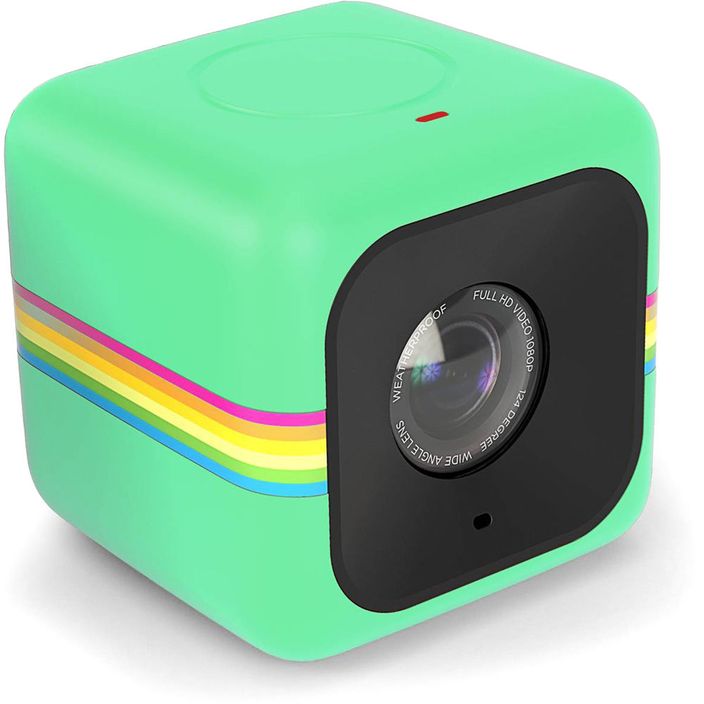 Polaroid Cube Lifestyle Action Camera (Glow-in-the-Dark Green) 203c29e28f