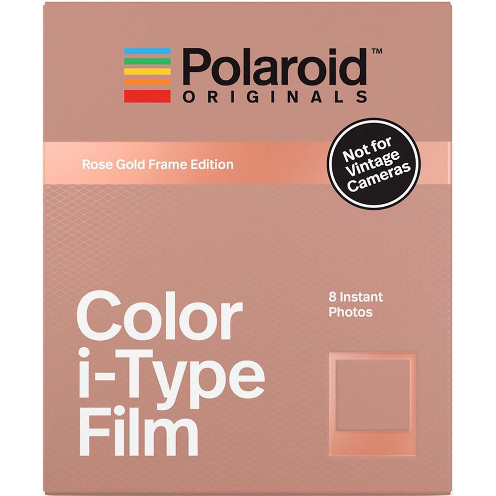Polaroid Originals Color i-Type Instant Film (Rose Gold Frame Edition, 8  Exposures) 0fde5ac9eaef