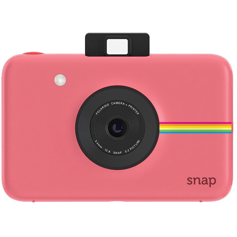 Polaroid Snap Instant Digital Camera (Pink) POLSP01PK B H Photo 0da100b291