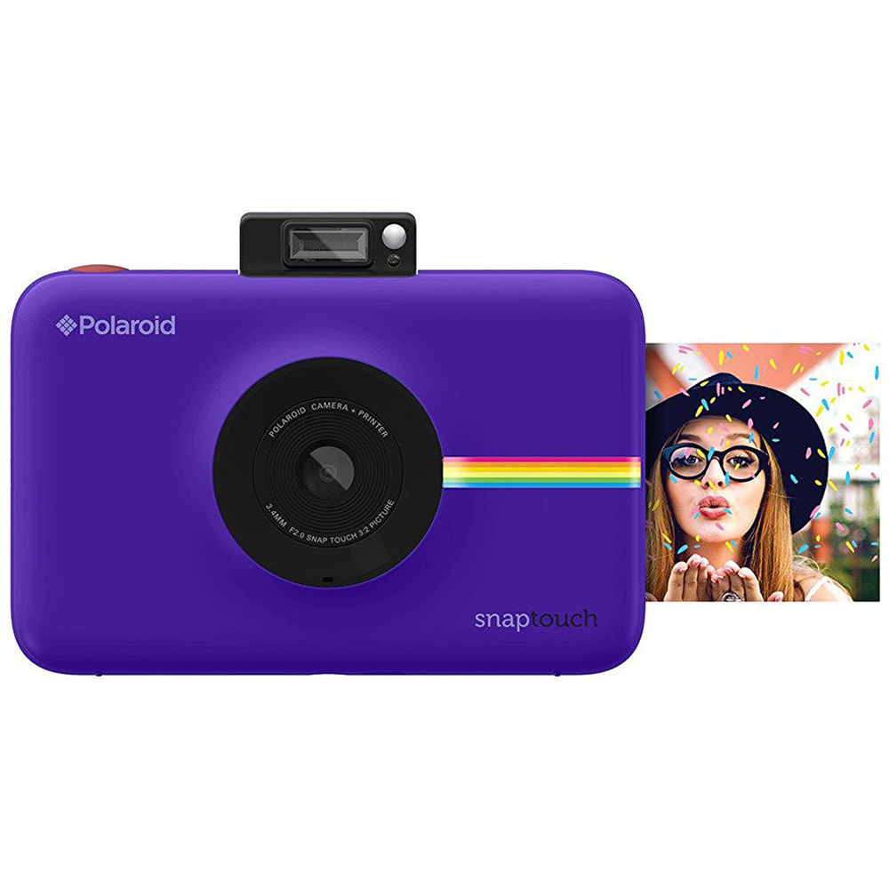 Polaroid Snap Touch Instant Digital Camera Purple