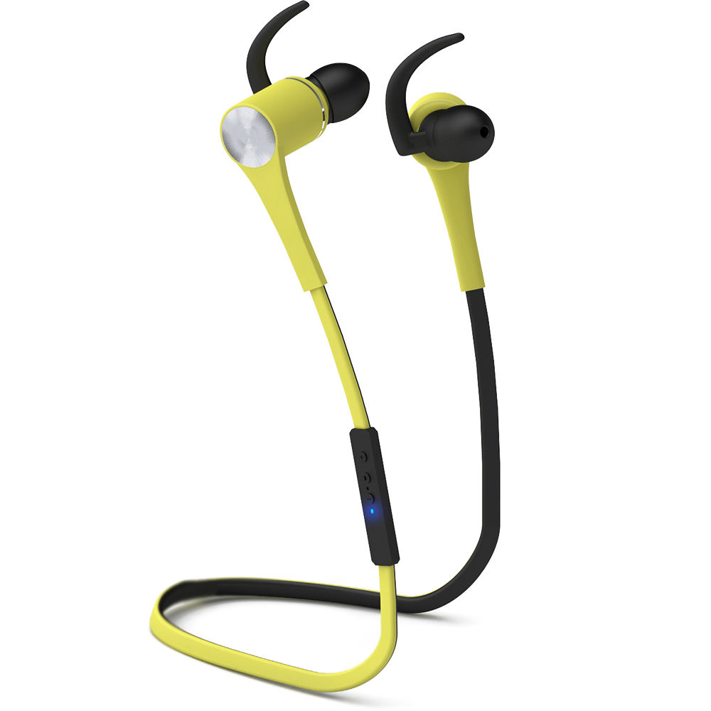 used pom gear sport pro2go sp 100 bluetooth earbuds sp100 ygy. Black Bedroom Furniture Sets. Home Design Ideas