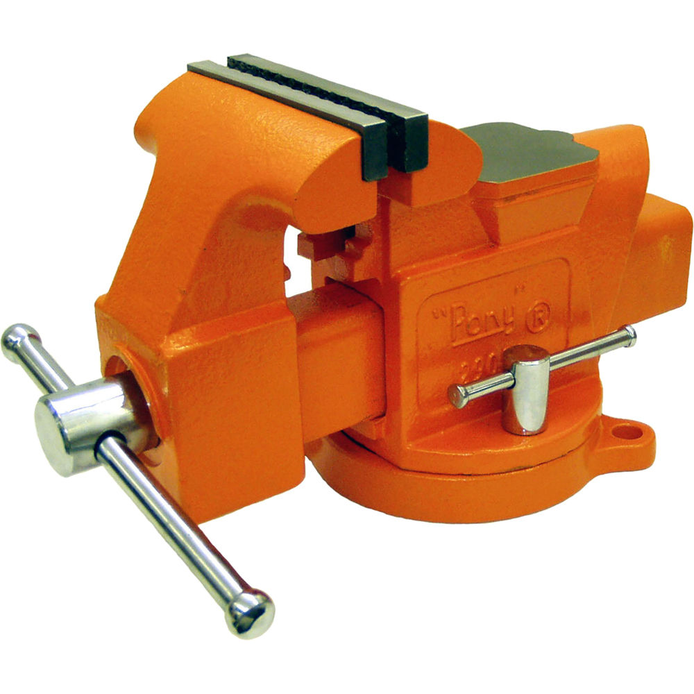"""What Is A Bench Vise Used For: Pony Adjustable Clamps 6"""" Machinist's Bench Vise 29060 B&H"""