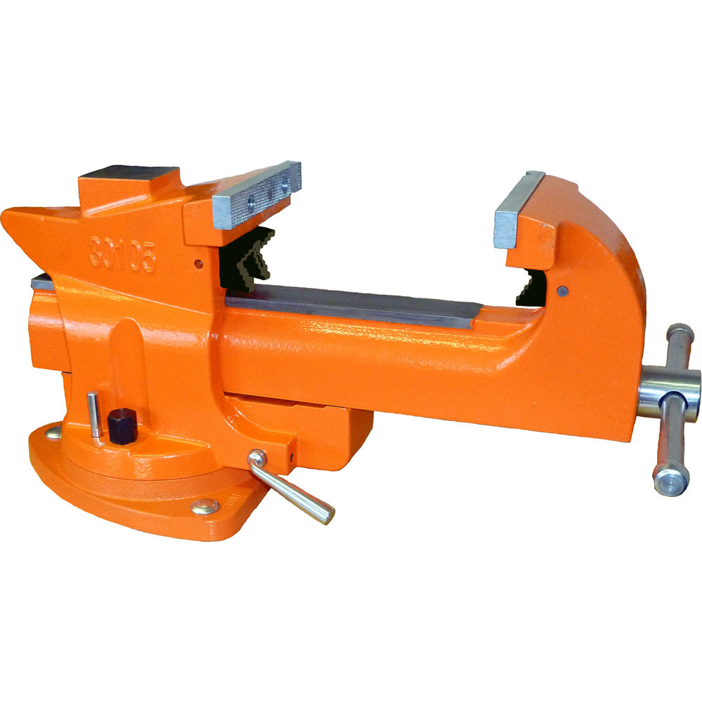 """What Is A Bench Vise Used For: Pony Adjustable Clamps 5"""" Quick-Release Bench Vise 30105"""
