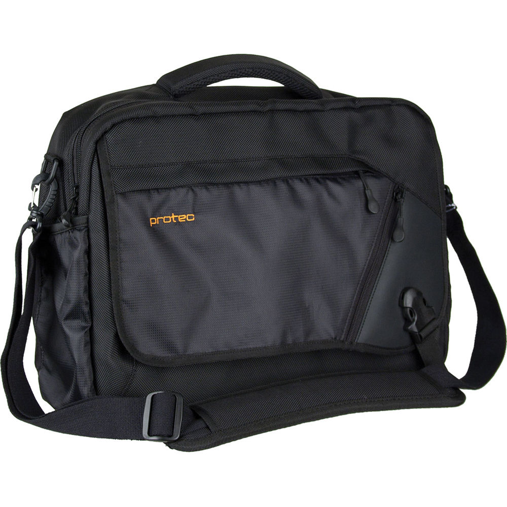 c5d89dfd631f PRO TEC Deluxe Camera Messenger Bag (Black)