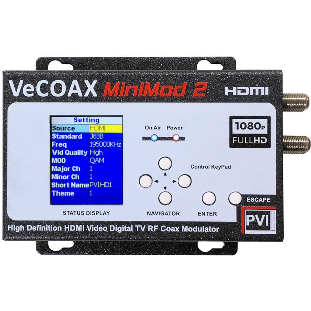 ProVideoInstruments VeCOAX MiniMod 2 HDMI To RF Modulator