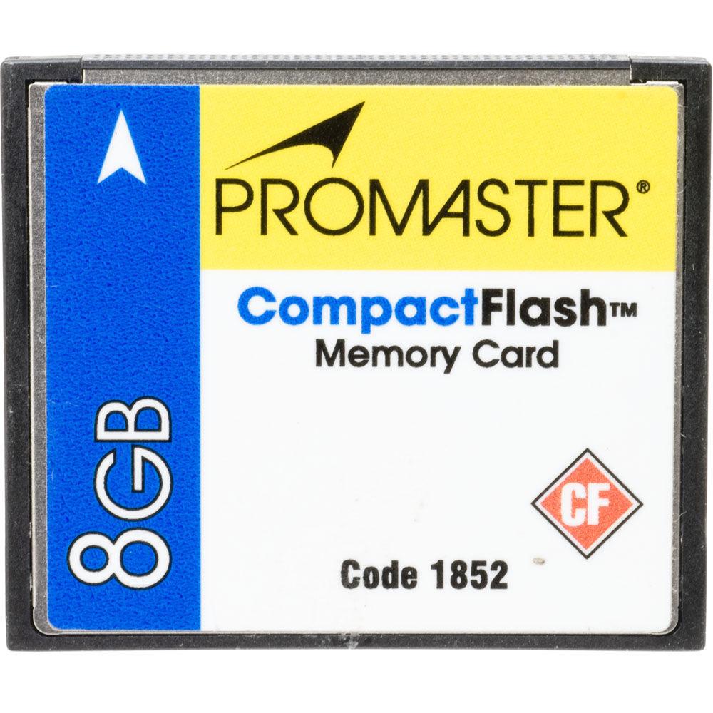 Used Promaster 8GB Compact Flash Card UDMA B&H Photo Video