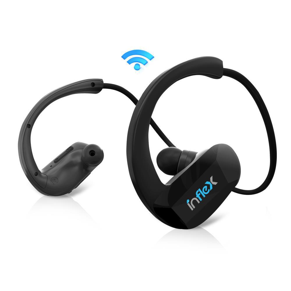 Pyle Home Inflex 2in1 Waterproof Bluetooth Mp3 Headphones With Builtin