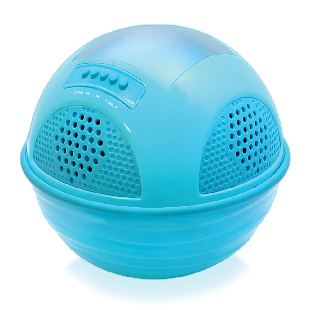 Pyle home aqua sunblast floating bluetooth waterproof pwr95sbl for Waterproof speakers for swimming pools
