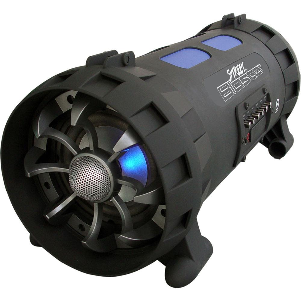 1000 Watt Wireless Speaker Wire Center Vacuumevacuatedtubediagram Pyle Pro Street Blaster Portable Bluetooth Rh Bhphotovideo Com Behringer