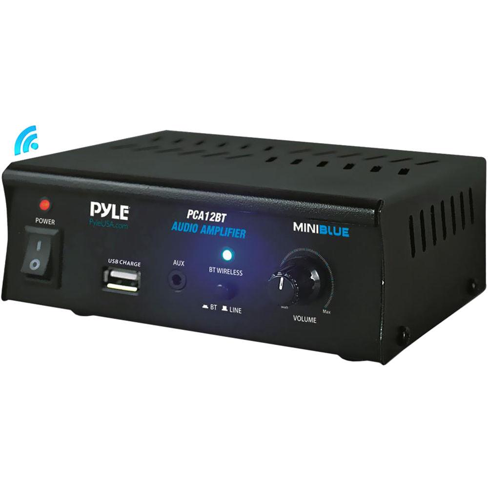 Pyle Pro Pca12bt Stereo Power Amplifier Pca12bt B U0026h Photo