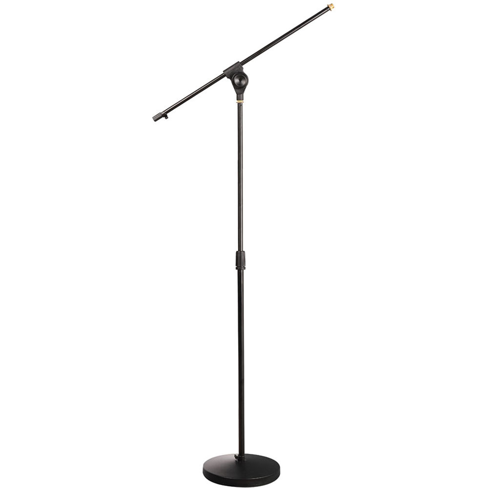 pyle pro universal compact base microphone stand pmks15 b h. Black Bedroom Furniture Sets. Home Design Ideas