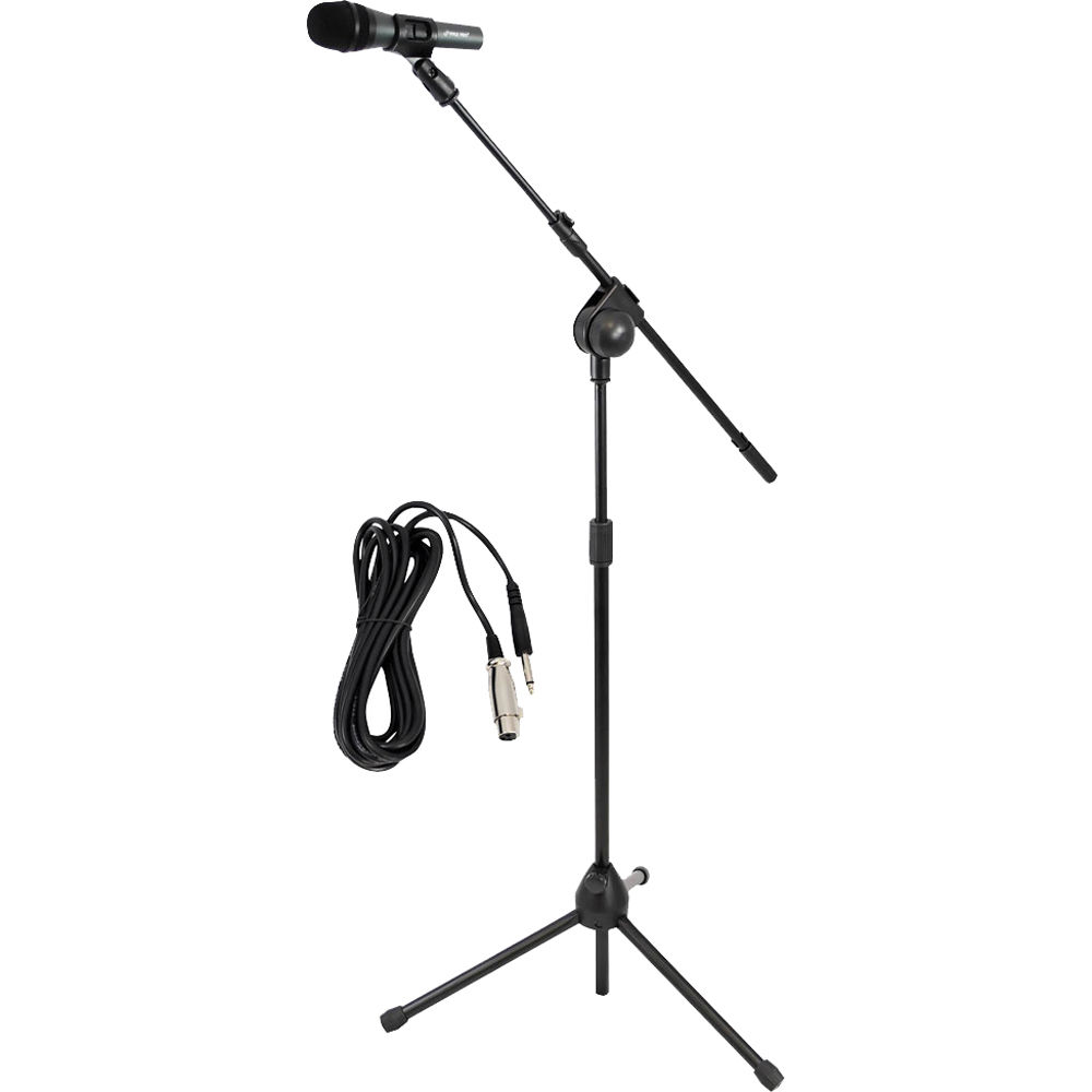 Portable Desktop Table Microphone High Quality Studio Recording Dynamic Mic With Adjustable Metal Tripod Stand Holder Mount^ Microphones