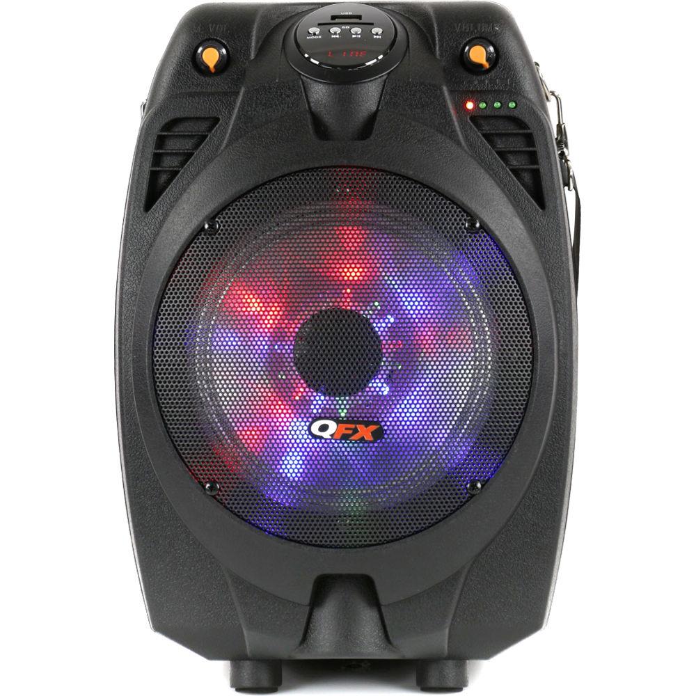 QFX Portable Bluetooth Party Speaker With LED PBX 710700BTL B&H
