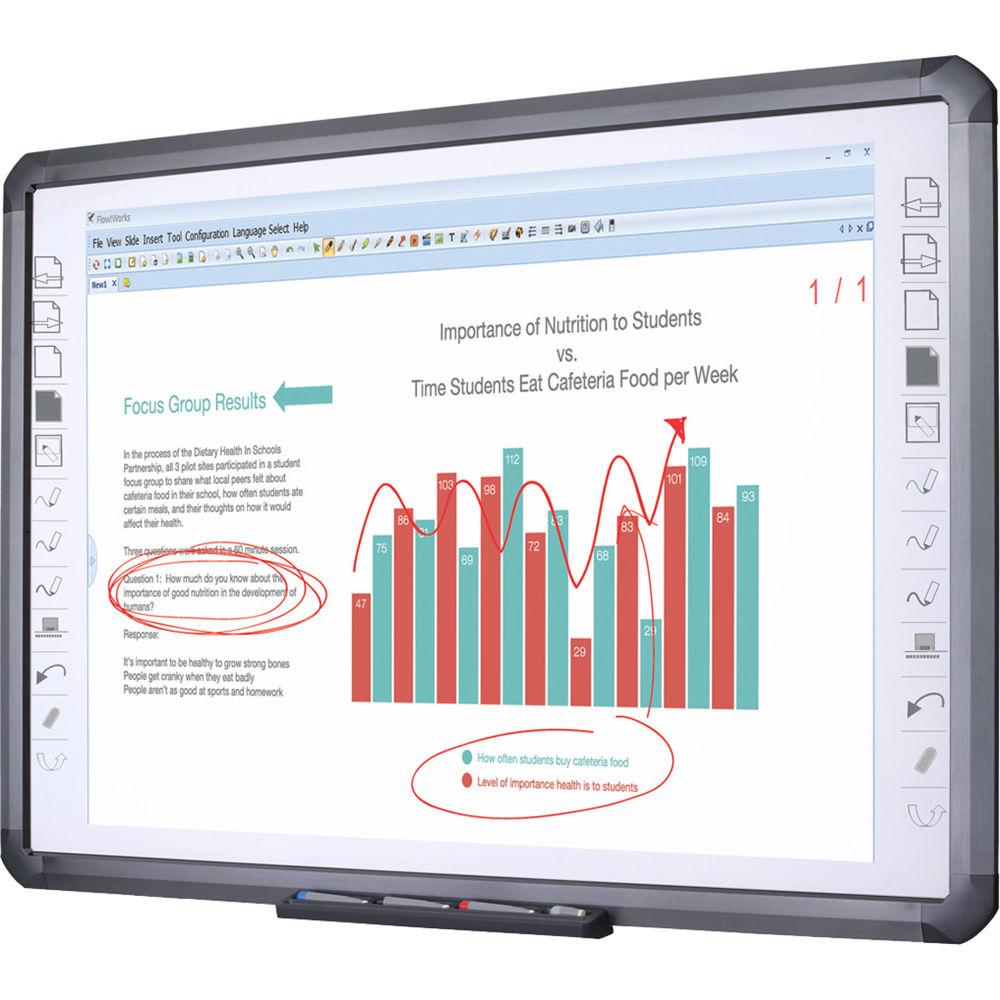 "QOMO QWB898 Infrared Interactive Whiteboard (98"") QWB898"
