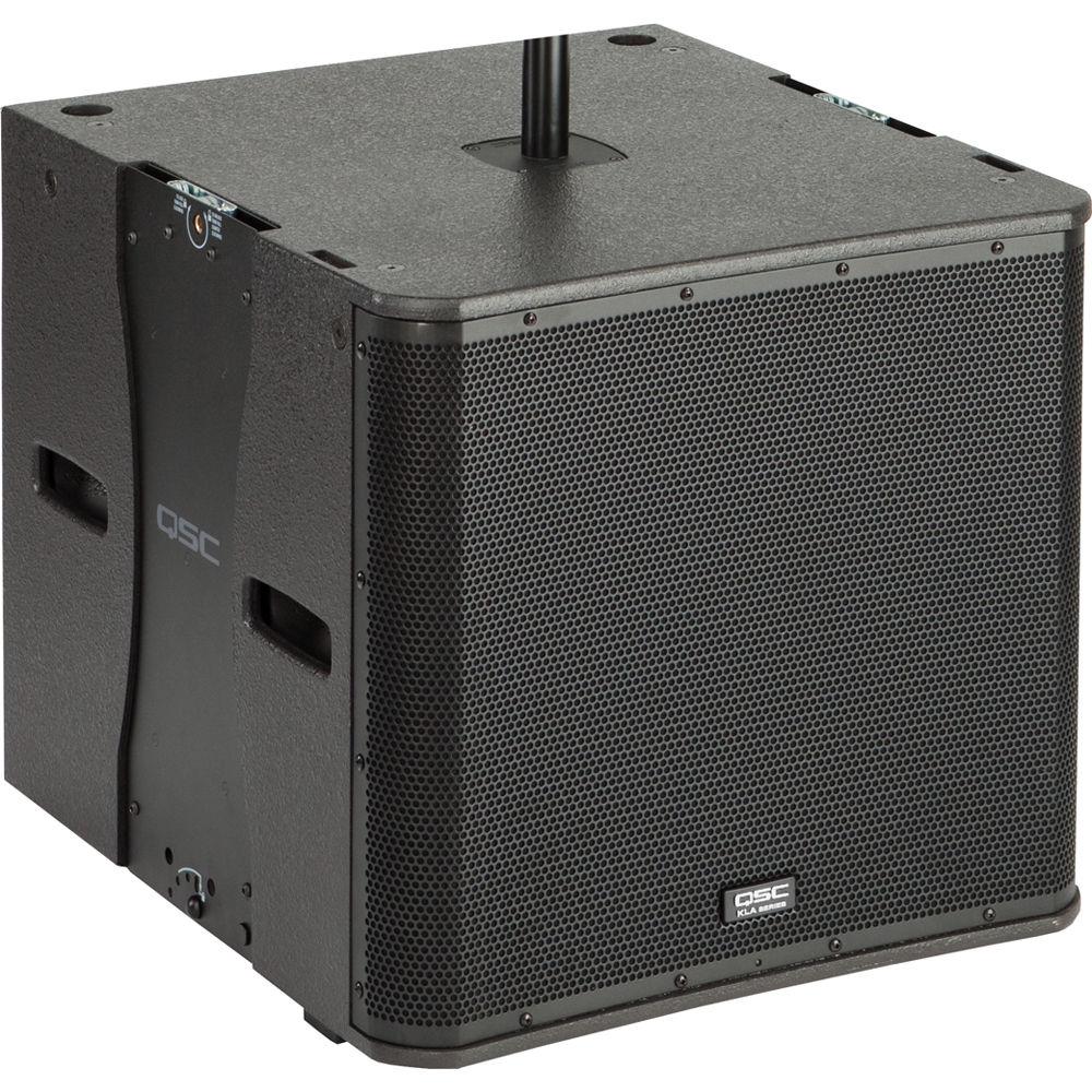 qsc kla181 1 000 watt subwoofer black kla181 bk b h photo. Black Bedroom Furniture Sets. Home Design Ideas