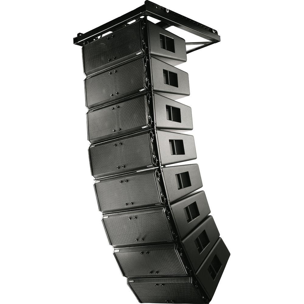 qsc wl2102 wideline 10 line array speaker system wl2102 tg b h. Black Bedroom Furniture Sets. Home Design Ideas