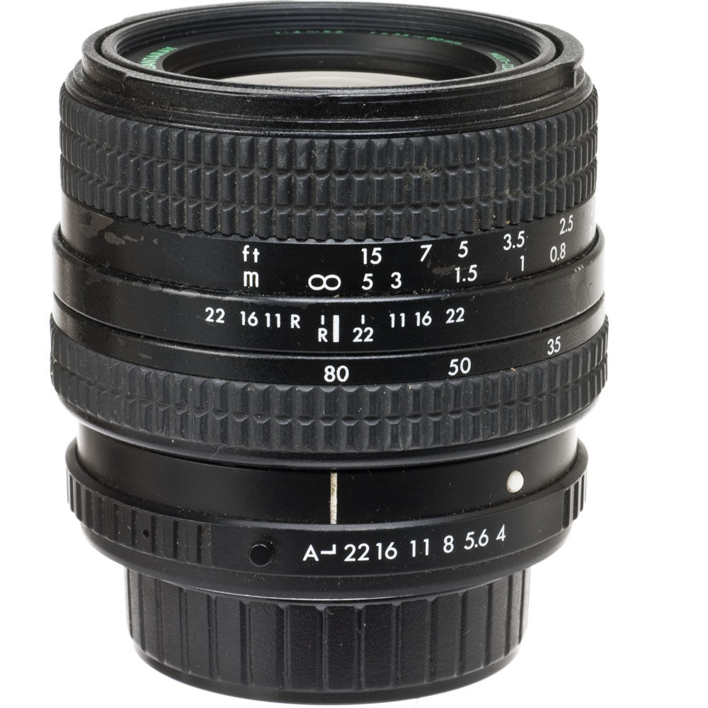 manual focus wide angle lens