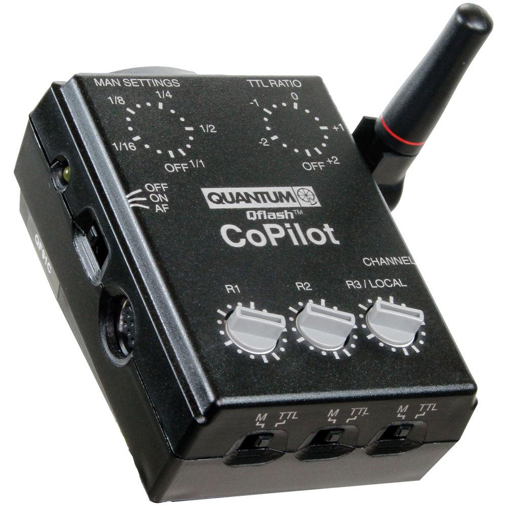 Quantum Studio Lighting: Quantum Instruments CoPilot Wireless TTL Flash Controller